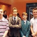 Színházi premieren voltak a nyolcadikasok
