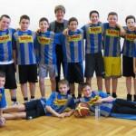Diákolimpiai győzelem kosárlabdában
