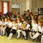 A közönség soraiban a fellépők