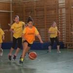 Bemutatkoztak a Kenguru bajnokságban kosaras lányaink