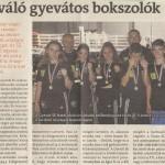 Sikeres sportolóink a Soproni Témában